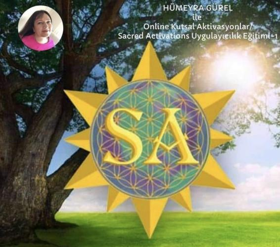 Kutsal aktivasyonlar Uygulayıcılık Programı/Online Sacred Activations