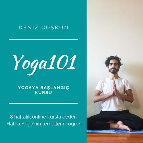 Yoga101-8 Haftalık Yogaya Başlangıç Kursu