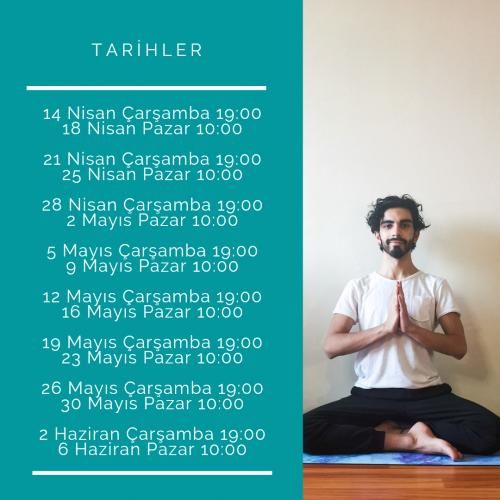 Yoga101-8 Haftalık Yogaya Başlangıç Kursu Deniz Coşkun