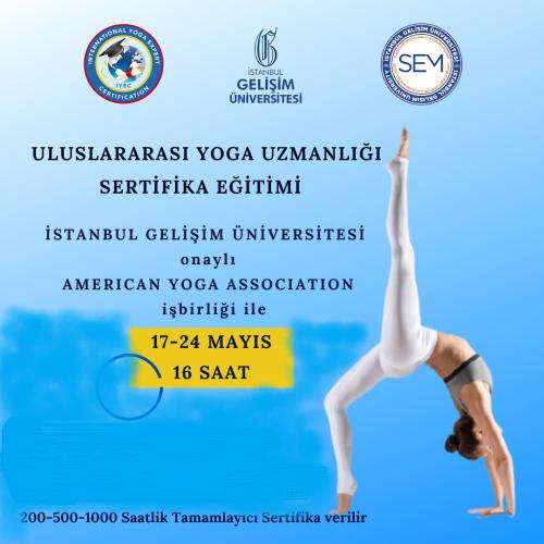 Uluslararası Yoga Uzmanlığı/ International Yoga Expert