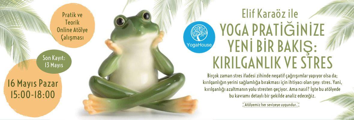 Yoga Pratiğinize Yeni Bir Bakış: Kırılganlık ve Stres Atölyesi
