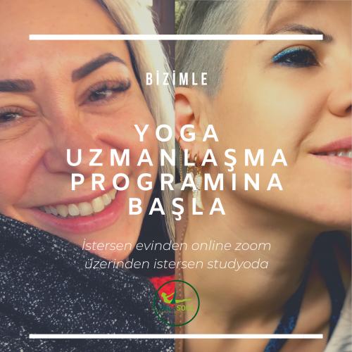 Meriç Baytur Ve Ceren Bodur İle 200 Saat Yoga Uzmanlaşma Programı