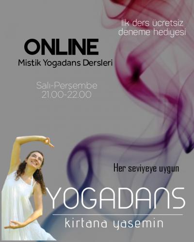 YogaDans Online Dersler