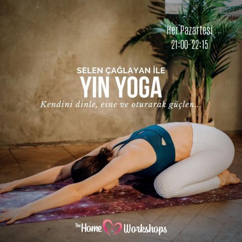 Selen Çağlayan ile Yin Yoga