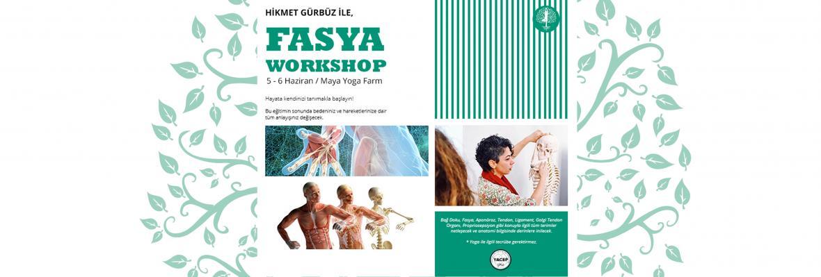 Fasya (bağ doku) Workshop'u