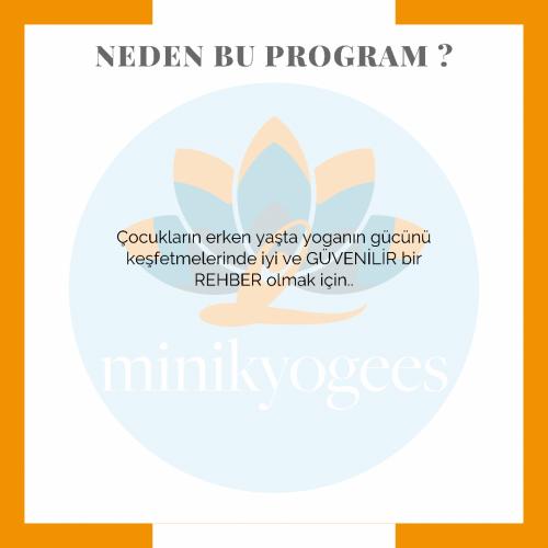 Minikyogees Çocuk Yogası 30 Saatlik Uzmanlık Programı Günce Dere