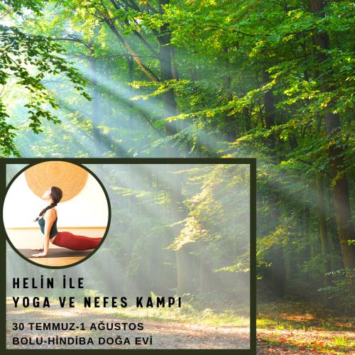 Helin ile Yoga ve Nefes Kampı Helin Şahin