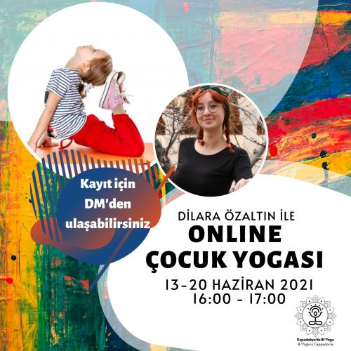 Online Çocuk Yogası
