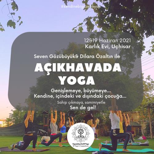Açıkhavada Yoga