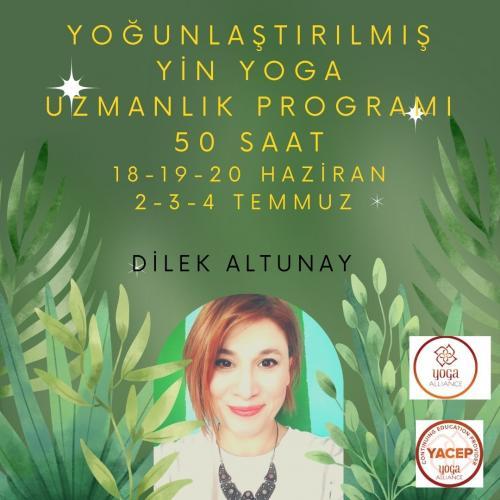 Yin Yoga Uzmanlık Programı Dilek Altunay