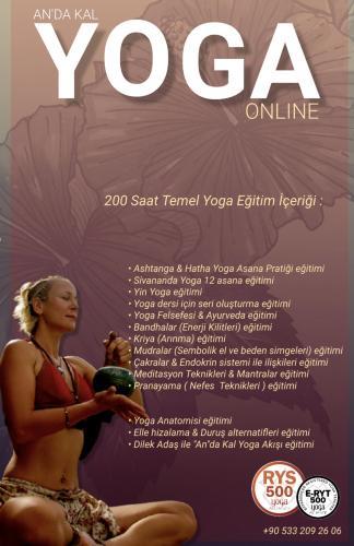 An'da Kal Temel Yoga Uzmanlık Programı 200±300 saat Yoga Alliance Onaylı