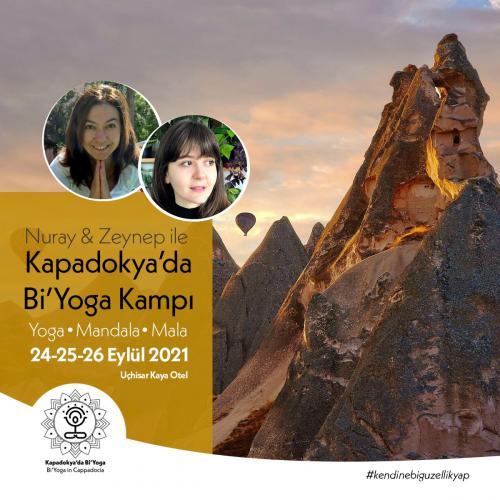 Nuray&Zeynep ile Kapadokya'da Bi'Yoga Kampı