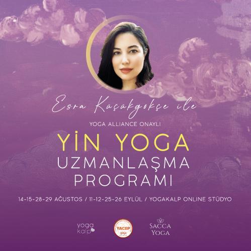 Esra Küçükgökçe ile Yin Yoga Uzmanlaşma Programı