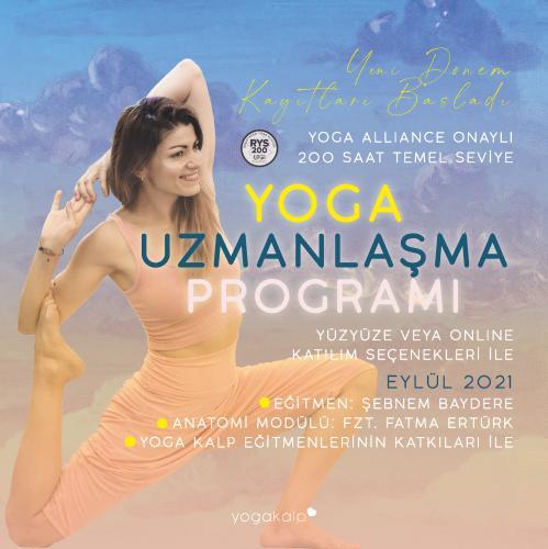 Yoga Kalp 200 Saatlik Yoga Alliance Onaylı Uzmanlık Sertifika Programı