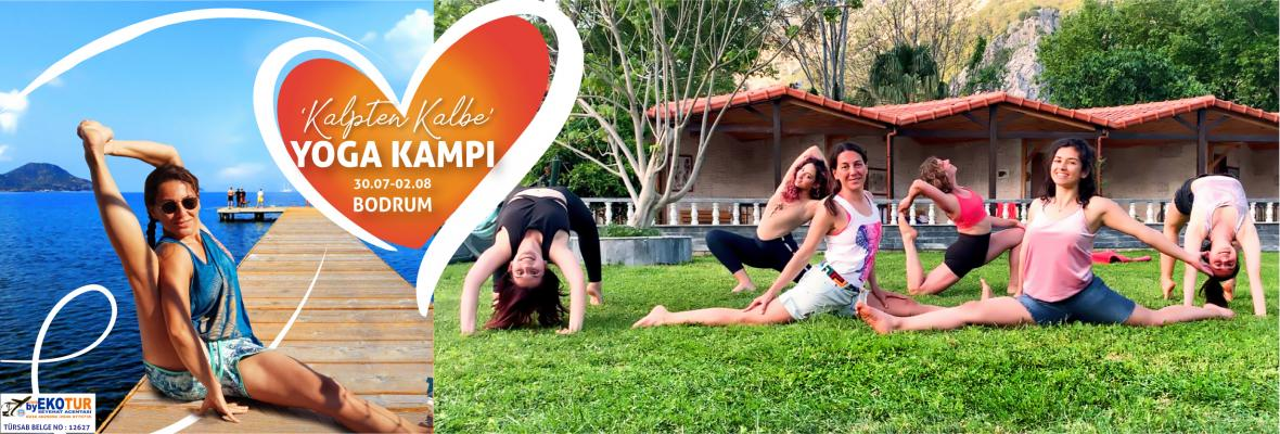Yeşim ile Kalpten Kalbe Yoga Kampı