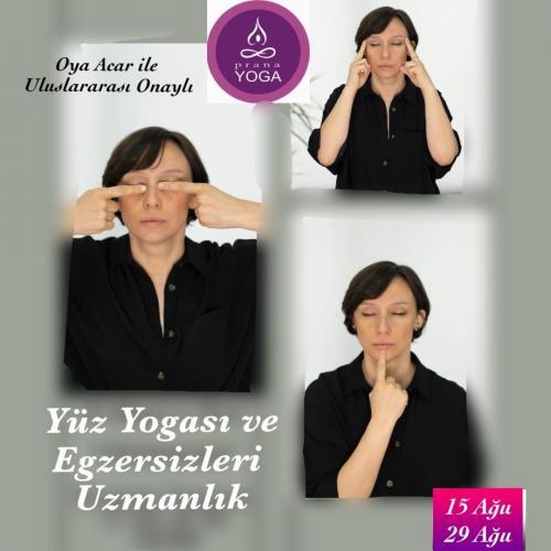 Yüz Yogası ve Egzersizleri Uzmanlık (YA Onaylı)