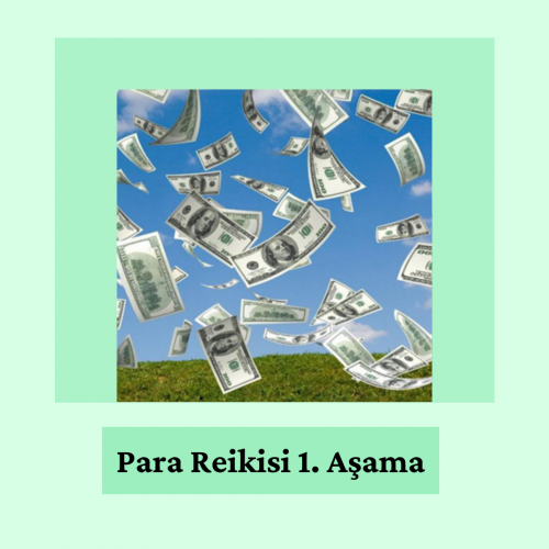 Para Reikisi (Money Reiki) 1. Aşama