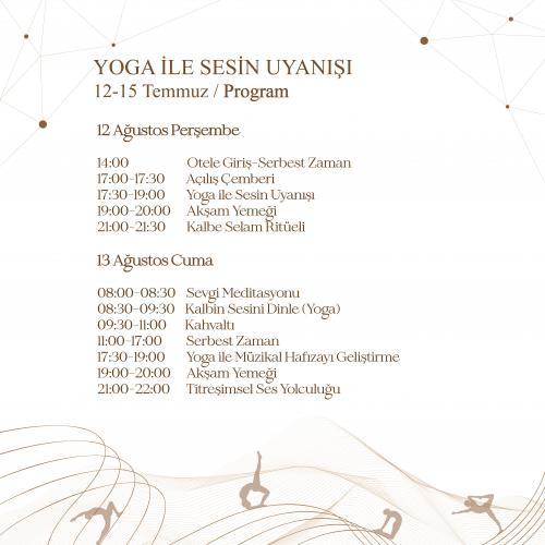 Yoga İle Sesin Uyanışı - Yoga & Ses Kampı Gizay Büyükdoğanay