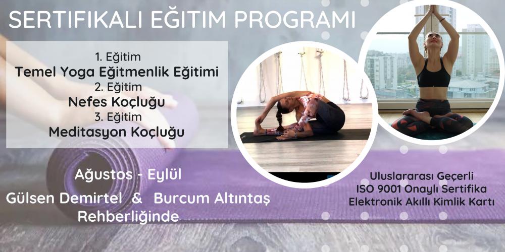 Yoga, Nefes & Meditasyon Koçluğu Sertifikalı Uzmanlık Programı