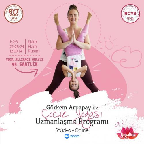 Görkem Arpapay ile Yoga Alliance Onaylı 95 Saatlik Çocuk Yogası Uzmanl