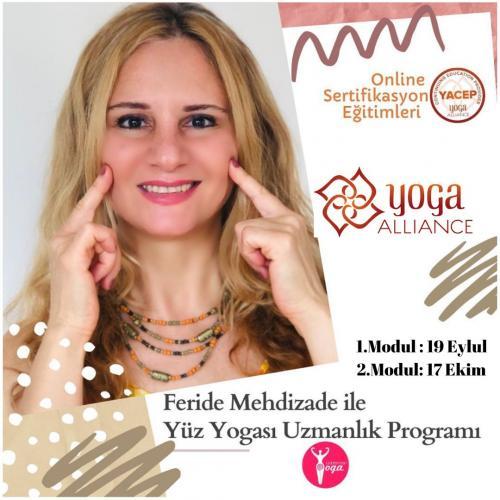 Feride Mehdizade ile Online Yüz Yogası Sertifika Programı
