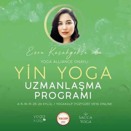 Yin Yoga Uzmanlaşma Programı