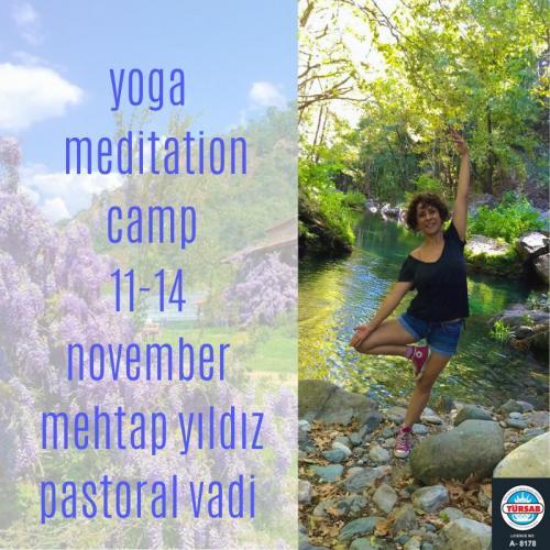 Mehtap Yıldız ile Yoga ve Meditasyon Kampı