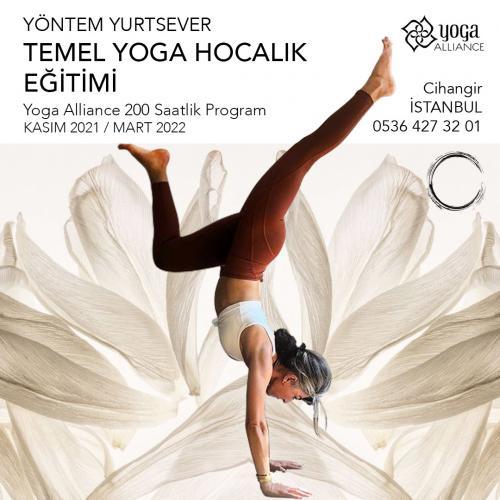 Yöntem Yurtsever İle Temel Yoga Uzmanlık Programı