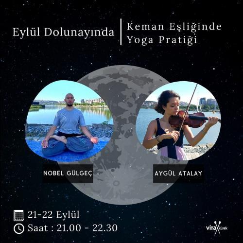 Dolunayda Keman Eşliğinde Yoga
