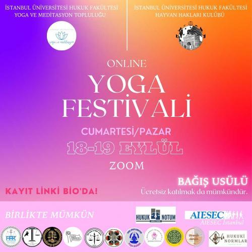 Bağış Usulü Online Yoga Festivali