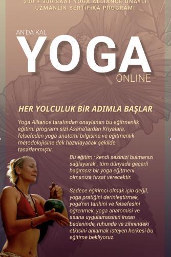 Dilek Adaş ile An'da Kal Yoga Uzmanlık Programı (200+300 ) 500 saat