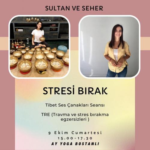 Stresi Bırak - TRE (Travma Bırakma Egzersizleri) & Tibet Ses Çanakları Seansı