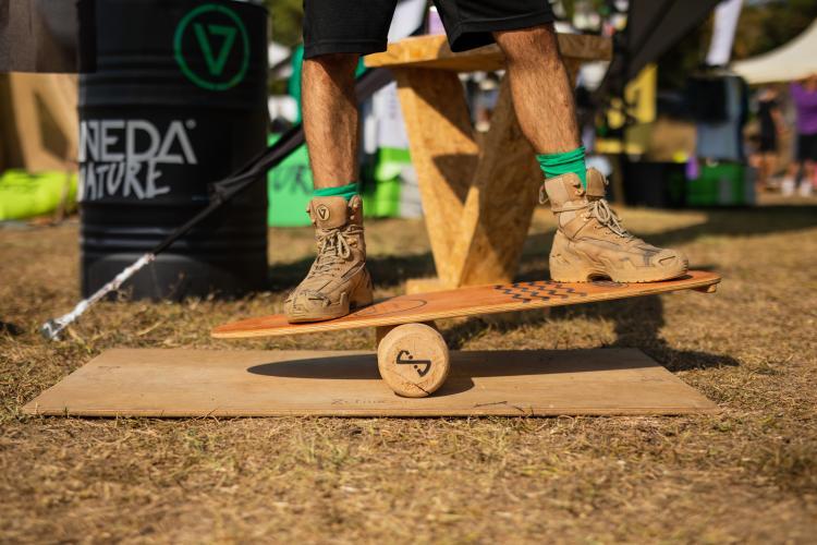 Chiboard Balance Arts Camp Durukan Duru
