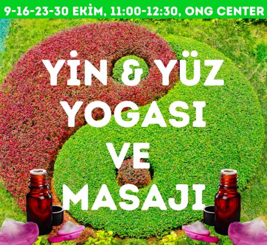Yin Yoga ve Yüz Yogası ve Masajı Atölyesi