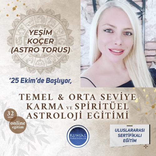 Temel ve Orta Seviye Karma ve Spiritüel Astroloji Uzmanlık Programı