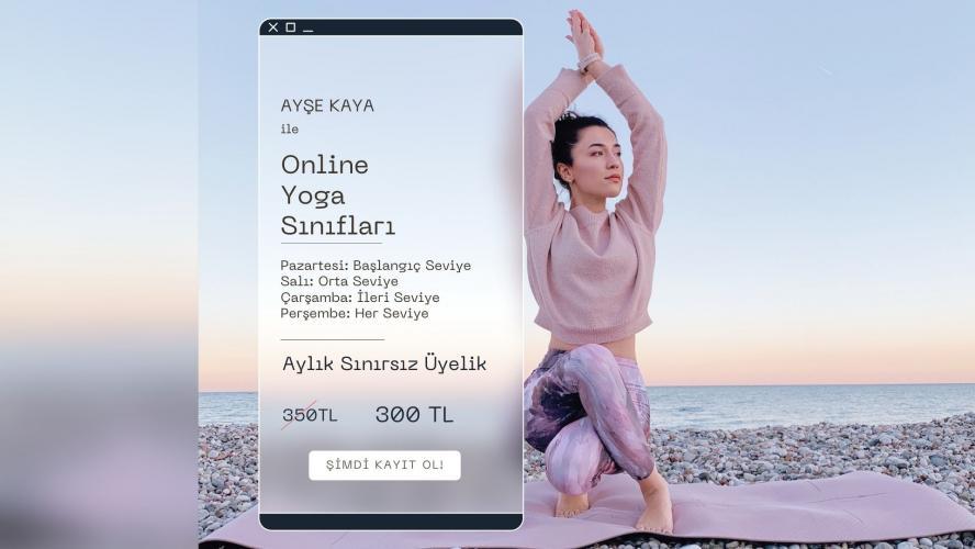 Ayşe Kaya İle Online Yoga Dersleri