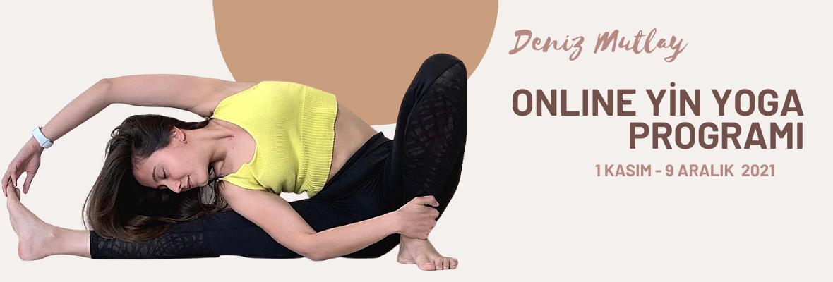 Online Yin Yoga Programı