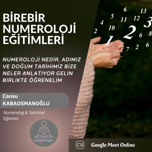 Birebir Numeroloji Programı Cansu Kabaosmanoğlu