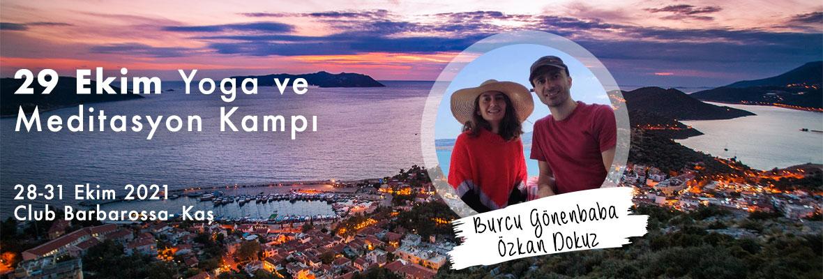 Burcu ve Özkan ile Kaş'ta 29 Ekim Yoga ve Meditasyon Kampı
