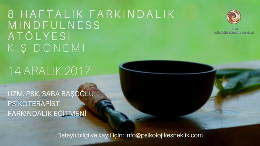 8 Haftalık Farkındalık -  Mindfulness Atölyesi -  Kış Dönemi