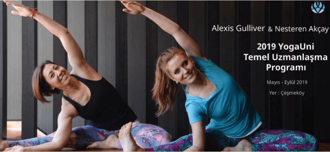 YogaUni Temel Uzmanlaşma Programı - Alexis Gulliver ve Nesteren Akçay ile - 200 saat YA Onaylı