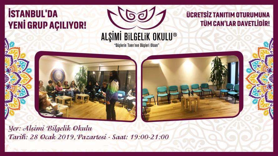Alşimi Bilgelik Okulu İstanbul Yeni Grubu - Ücretsiz Tanıtım Oturumu