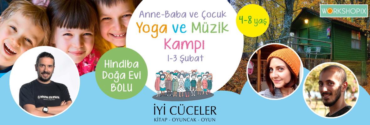 Anne-Baba-Çocuk Yoga ve Müzik Kampı