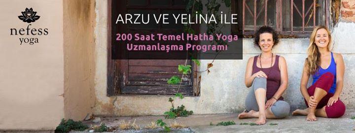 Temel Hatha Yoga Uzmanlaşma Programı  200 Saat