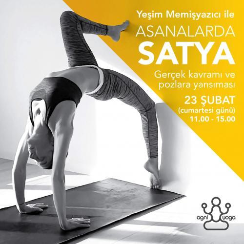 Asanalarda Satya - İstanbul