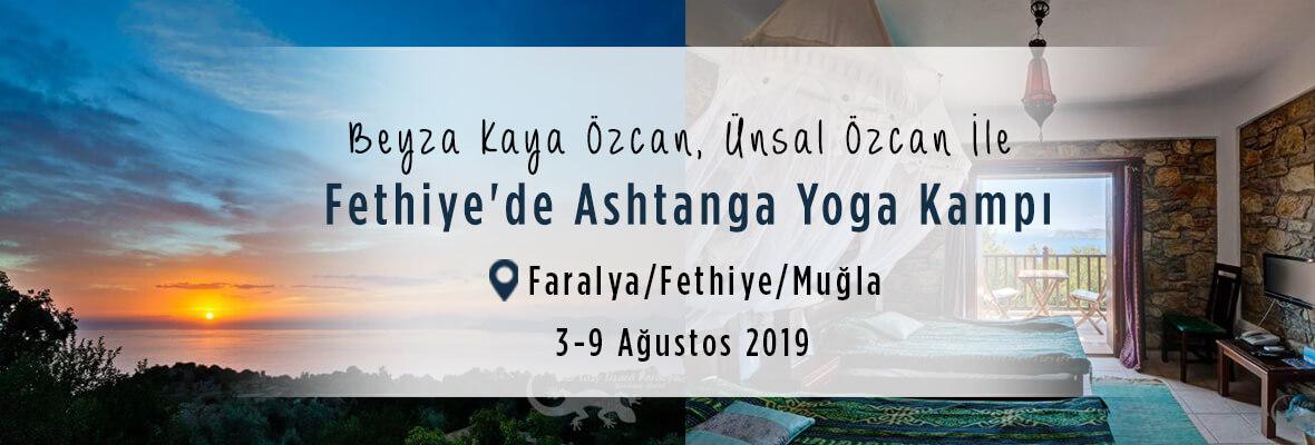Ünsal ve Beyza ile Fethiye Faralya'da  Ashtanga Yoga Tatili