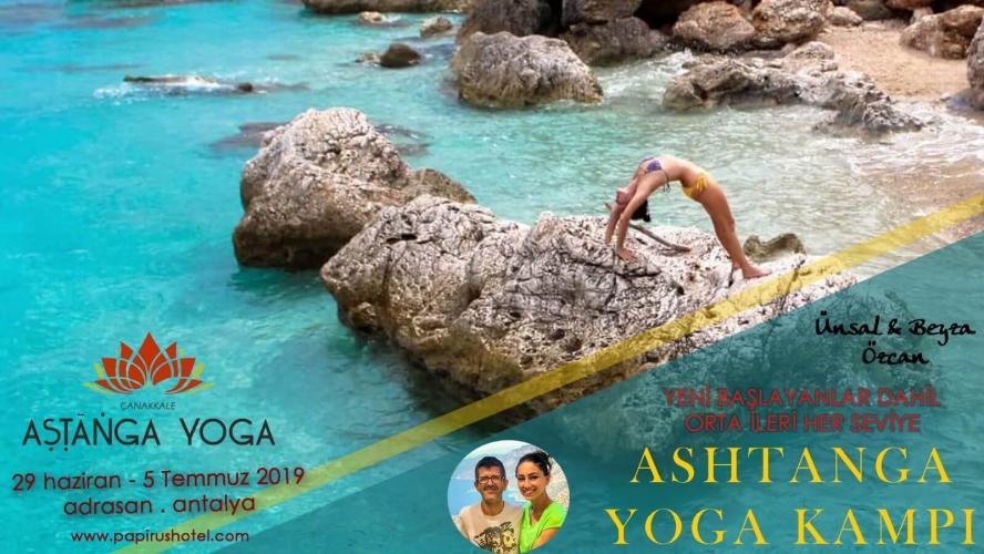 Adrasan'da Ashtanga Yoga Kampı