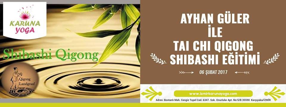 Ayhan Güler İle Tai Chi Qigong Shibashi Eğitimi