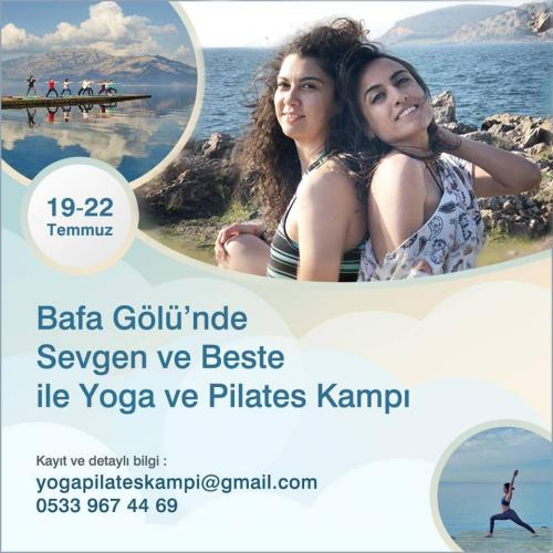 Bafa Gölü'nde Yoga ve Pilates Kampı