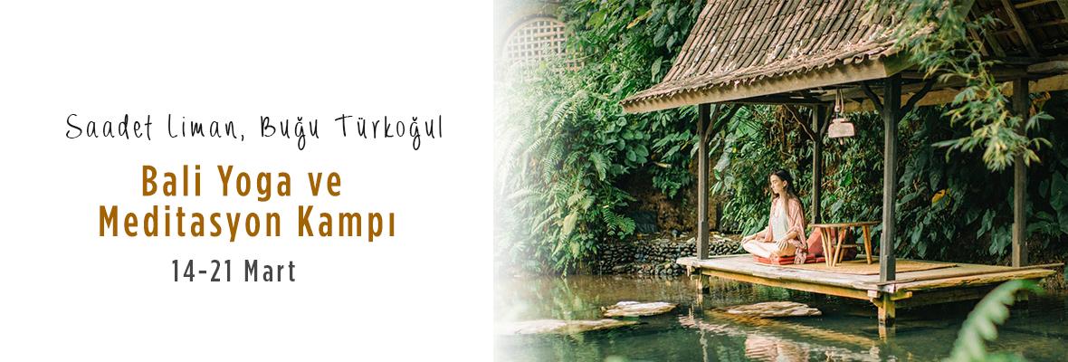 Bali Yoga ve Meditasyon Kampı Saadet Liman